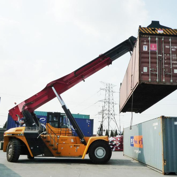 Sany 35ton Container Reach Stacker for Sale with Reach Stacker Parts