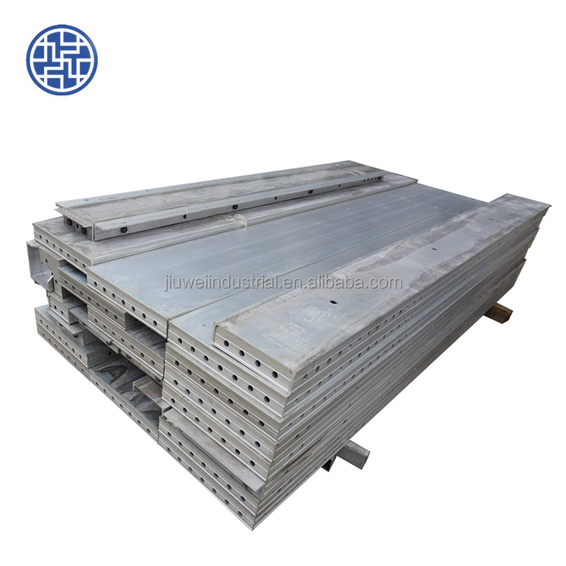 used slab shoring precast concrete slab roof formwork scaffolding system partition wall panel
