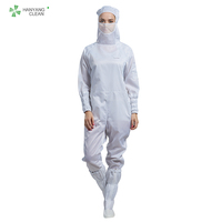 Clean room protective clothing esd garment antistatic coverall