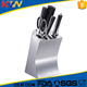 New arrival german stainless steel knife set with acrylic stand