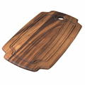 High quality Acacia Wood cutting board with handle Rectangular chopping Board