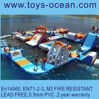 hot selling giant inflatable water park/water toys for adults/Inflatable Water Play Equipment For Sale