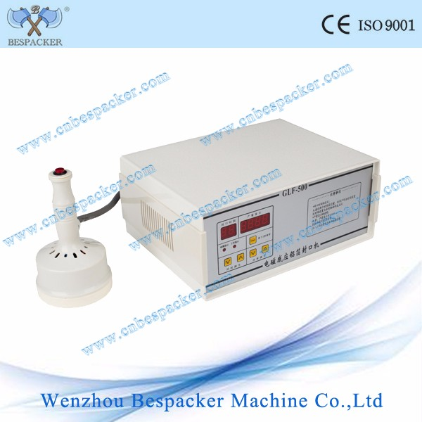 GLF-500 induction sealing machine for aluminum foil sealer