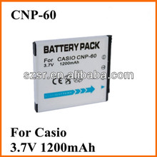 For Casio NP-60 camera battery rechargeable