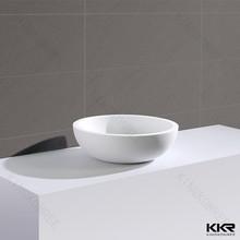 Maintenance-free bathroom counter top hand basin