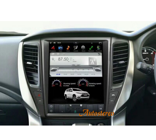 Android 6.0 Tesla Screen Car No DVD Player <strong>GPS</strong> Navigation For MITSUBISHI PAJERO2016 Headunit Multimedia 2GB 32GB Memory