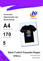 Light / Dark T-shirt Heat Transfer paper, Iron on transfers paper, Papel transfer para tecidos