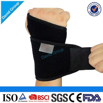 Print Logo Wholesale High Quality Adjustable Neoprene Wrist Brace
