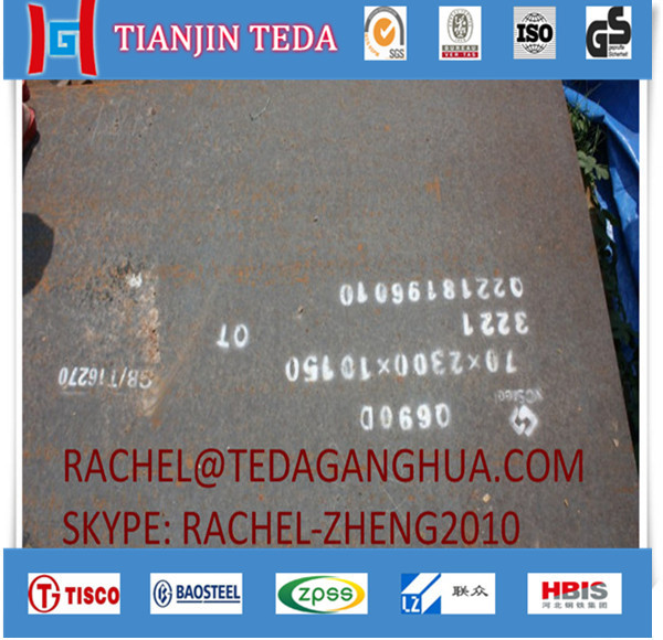 China manufacturers q690d alloy steel plate