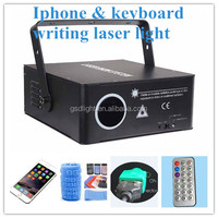 Full color portable Christmas writing laser / keyboard text laser