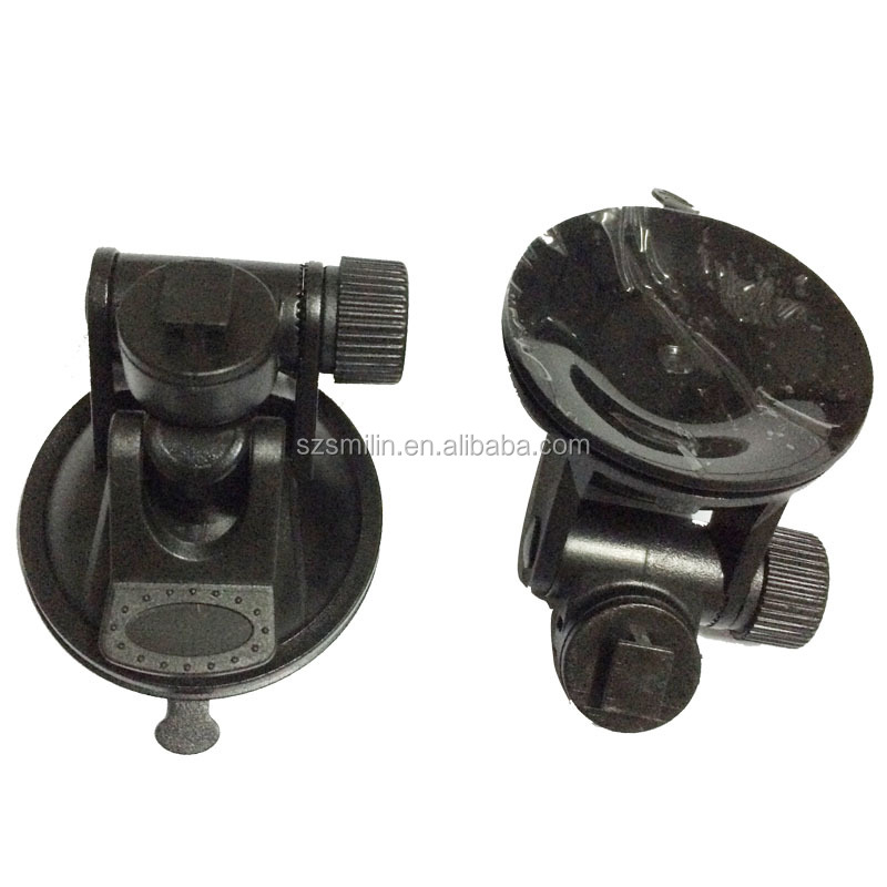 Super mini dedicate 55mm Car Camera Suction Cup Window Mount with 360 degree T interface for dvr camera C600