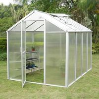 Garden green house / mini greenhouse / flower green houses (UNQ40034))