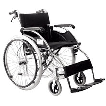 solid wheels for disable people aluminum lightweight wheelchair