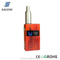 New coming product unik v2 mod vapor mod unik v2 wood unik 50w mod box