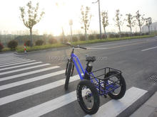 500W Fat tire 3 wheel electric cargo tricycle for sale
