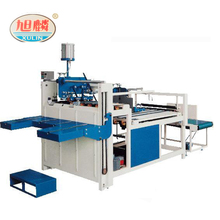 Corrugated Paper Box Automatic Folder Gluer Folding Gluing Carton Boxs Machine