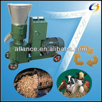homemade farm samll flat die feed pellet mill /feed pellet making machine for feed and biomass pellet