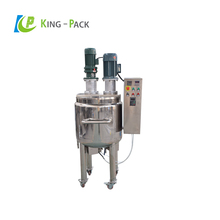 Fast supply speed cosmetics shampoo making machine for cream and lotion