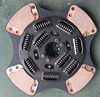High performance twin Friction clutch disc plate for Man