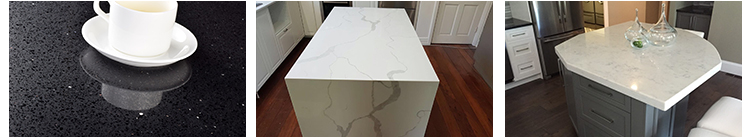 Wholesale Grey Sparkle Quartz Stone Countertop