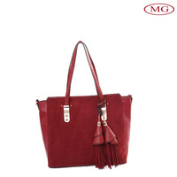 Korea style women bags 2015 fashion hand bags for girl fake leather ladies handbags