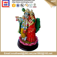 Best selling product customed high quality resin hindu goddess statue