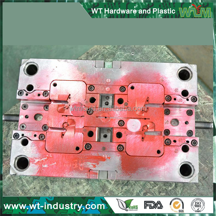 Two cavities mobile phone case plastic injection mold maker