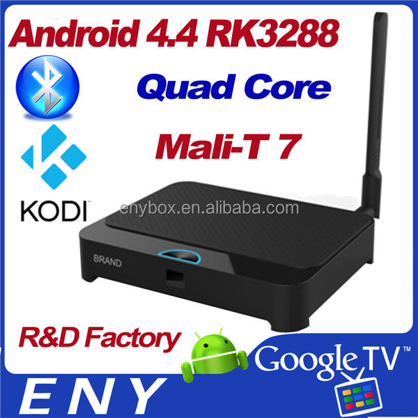 EKB328 quad core rockchip 3288 android 4.4 universal remote control google tv box