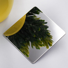201 304 polished mirror finish stainless steel sheet for Hotel