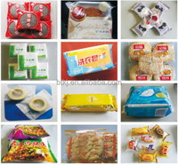 Inflate cake pillow packing machine
