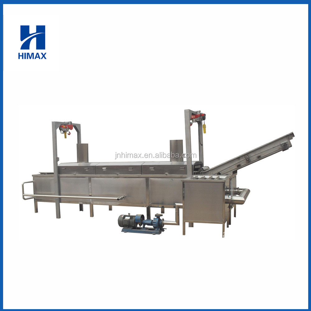 High quality stainless steel automatic frying machine/ Chips Fryer