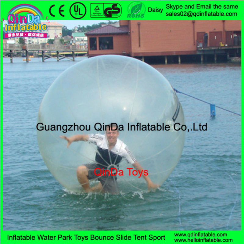 Pool Used Custom Park Water Game Floating Inflatable Zorb Water <strong>Ball</strong>