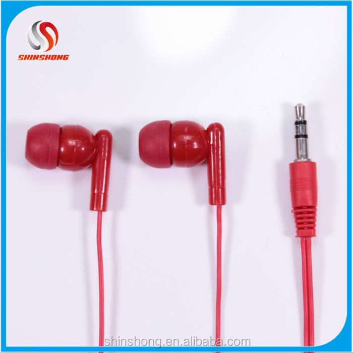 Dropshipping electronic earphone brands,disposable earphone with silicone covers tips