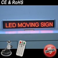 Led Car advertising head up display/car led display screen/led car real window digital display