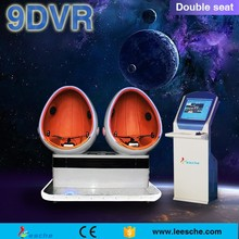 2016 hot selling 9d virtual reality!!! Free updated movies and interactive games waiting for you!