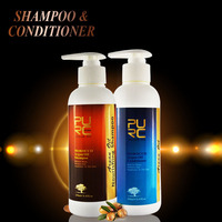 Hair beauty natural argan oil hair shampoo and conditioner health care product