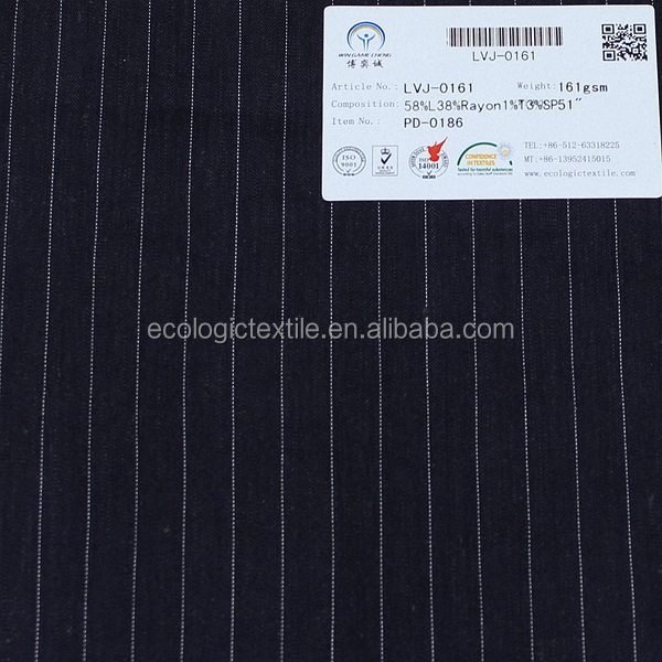 new product plain linen and rayon polyester spandex fabric for garment