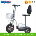 Hot Selling 350w brushless motor zappy 3 wheel Electric Scooter with CE For Adults