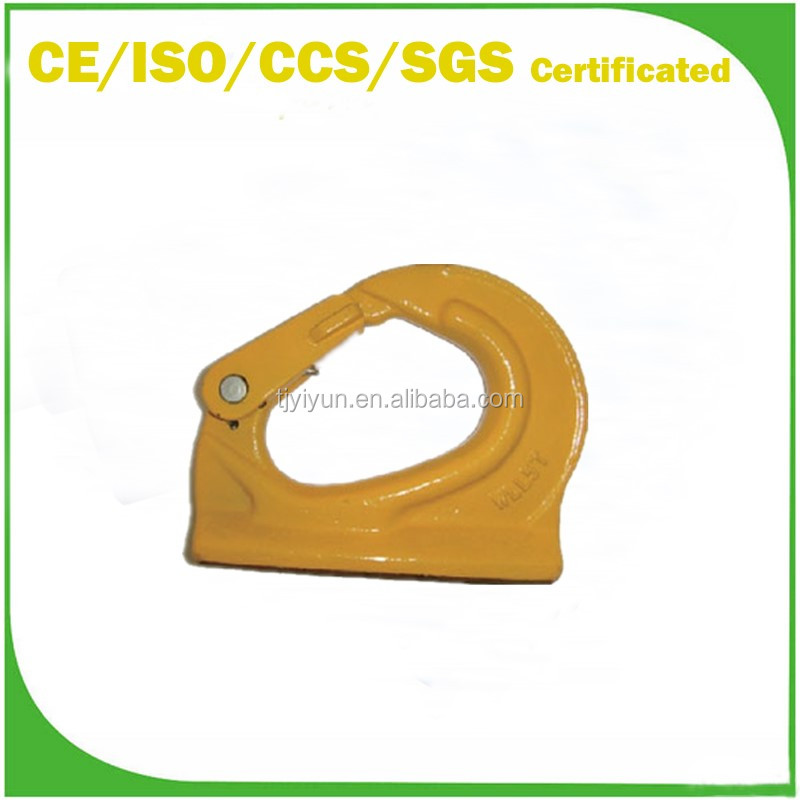 European Styple Safety equipment G80 Weld on Hook for Wire Ropes