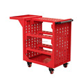 3 shelf storage utility cart with wheels