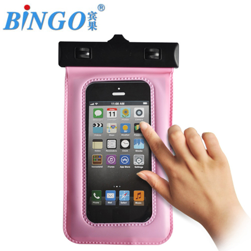 Mobile phone pvc material mobile waterproof cover for smartphone