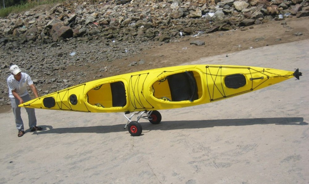 two seat ocean kayak with spray deck