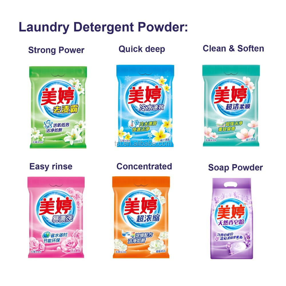 OEM Apparel Washing Laundry Soap Powder
