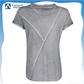 OEM dirty washed short sleeve vintaged disdress blank cheap t shirt for men