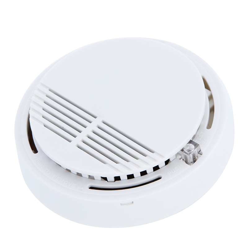 Home Kitchen Building Security Smoke Detector Smart Photoelectric Cordless Gas Smoke Detector Alarm Fire Alarm Sensor Equipment