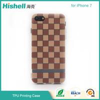OEM Embossed UV Printing Vintage Mobile Phone Case TPU Cover for iphone7