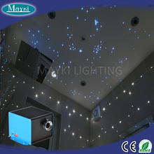 DIY fiber star ceiling light kit with blinky effect LED power supply and tails