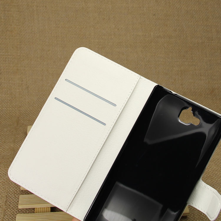 Good quality promotional flip up leather case for huawei honor 3c