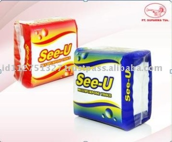 Facial Tissue Soft Pack 100% Virgin Pulp SU-Q3-1