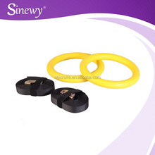 Crossfit Exercise Set ABS Plastic Gymnastic Rings